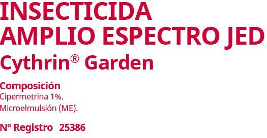 insecticida amplio espectro jed
